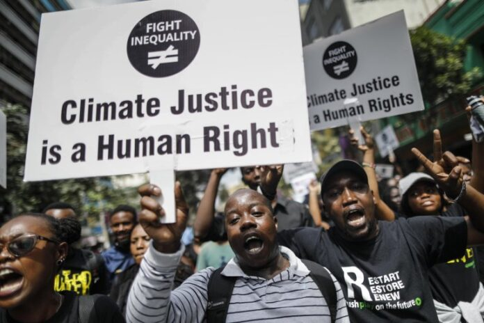 """""""Climate Justice IS a Human Rightâ€"""