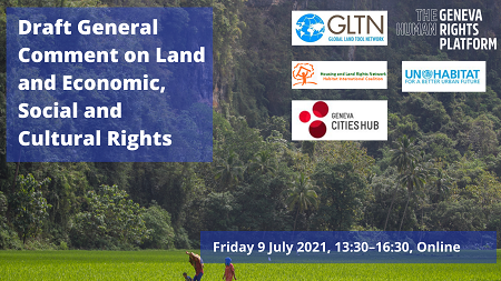 Human Rights and Land Event: Friday, 9 June
