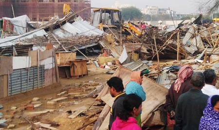 India: Forced Eviction in 2020
