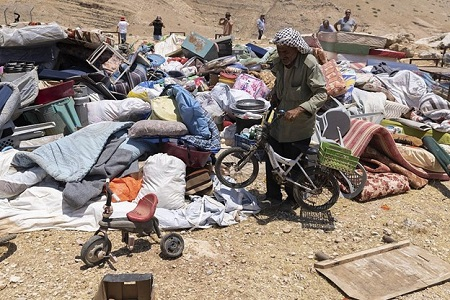 West Bank Demolitions Leave 70 Palestinians Homeless