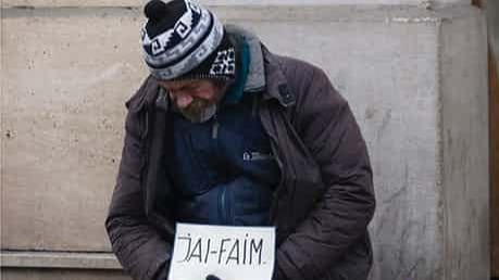 Homeless and Hungry in Paris