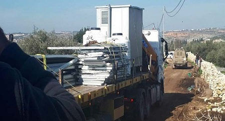 West Bank Demolitions, Displacement-January 2019