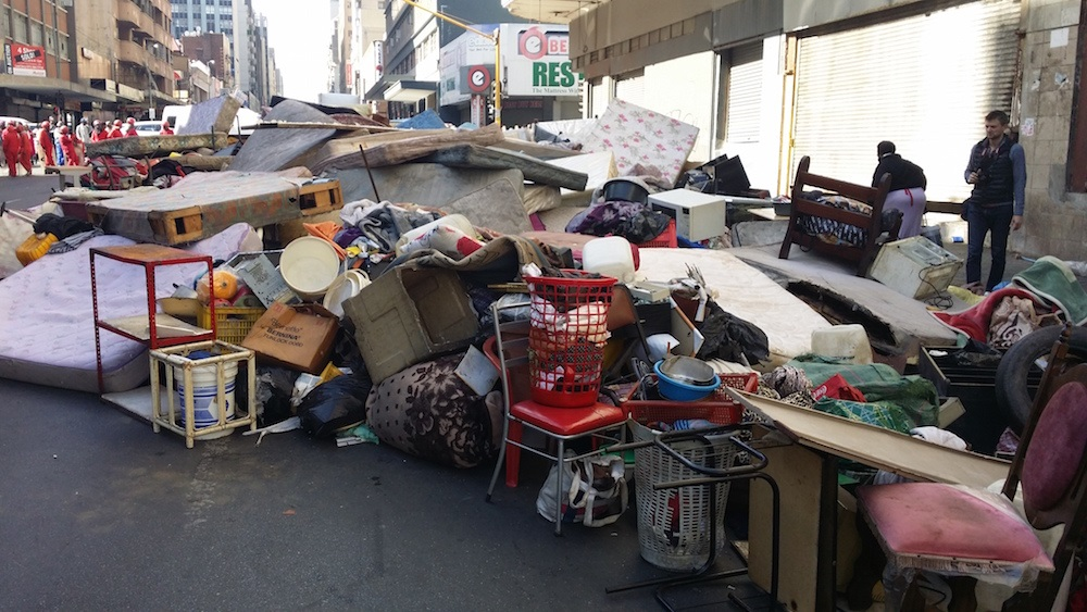 South Africa: Residents Challenge Eviction