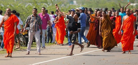 Sri Lanka: Clashes over Land in China Port Deal